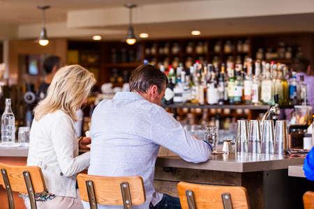 mercantile: Denver, Colorado, USA-May 17, 2015. Typical Sunday at Mercantile restaurant in Denver, Colorado.
