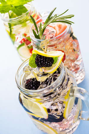vegetabilis: Fresh infused water made with organic ccitruses and berries.