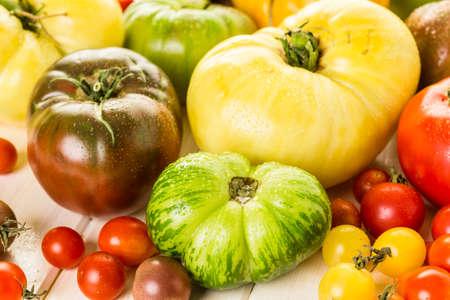 heirloom: Organic heirloom tomatoes from urban farm.