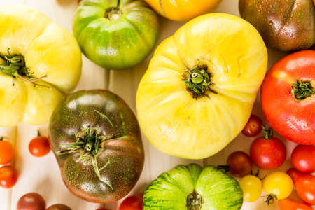 heirloom: Organic heirloom tomatoes from urban farm.