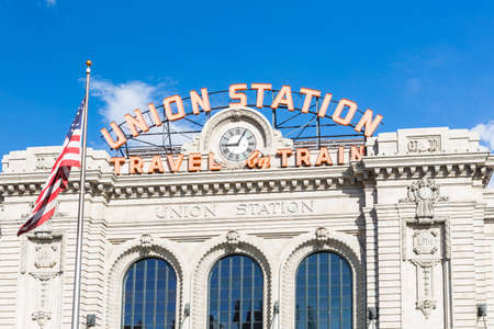renovated: Renovated Union Station in Downtown Denver, Colorado. Editorial