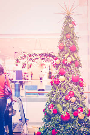 denver at christmas: Typical North American mall on Black Friday shopping.
