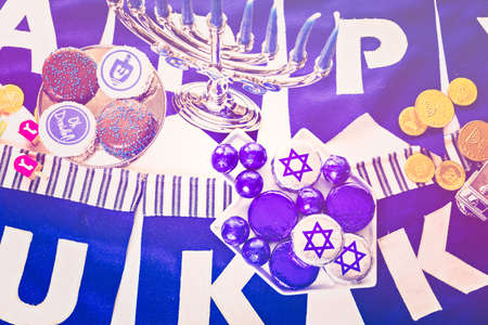 dreidel bears: Chocolates with Star of David for Hanukkah.