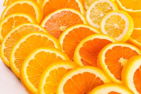 navel orange: Variety of citrus fruit including lemons, lines, grapefruits and oranges.