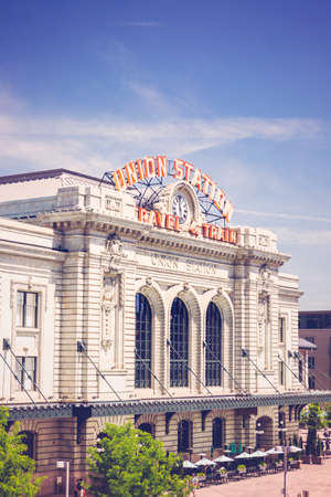 Denver, Colorado, USA-June 2, 2016. Historical Union Station after redevelopment.