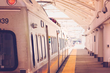 public aquarium: Commuter train from Denver Union Station to Denver International Airport.