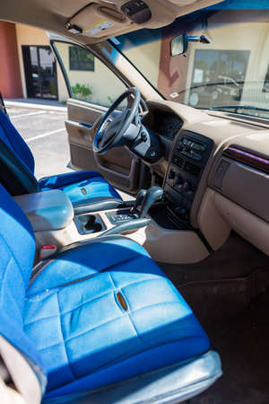 custom built: Custom built off road truck interior