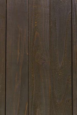 Painted brown wood boards as a background. Stock Photo