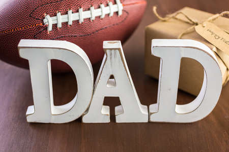 mode made: Celebrating Fathers Day for football dad.