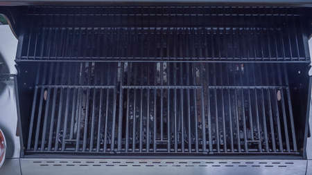 Step by step. Cleaning outdoor gas grill.