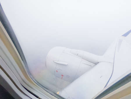 View from the commercial passanger airplane. Stock Photo - 122904656
