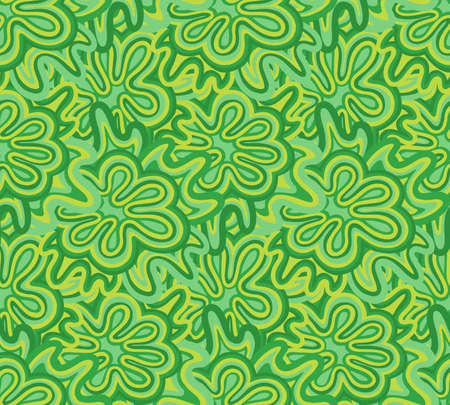 Seamless pattern modern abstract.Line drawing style.Fashion textile fabric. Illustration