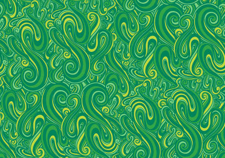 Seamless pattern wave abstract.Line drawing style. Fashion textile fabric.