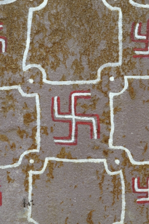 swastika wall paintings