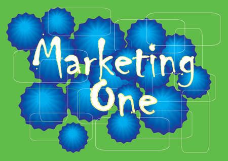 ebook cover: background marketing presentation Illustration