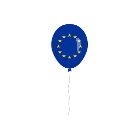 EU flag isolated