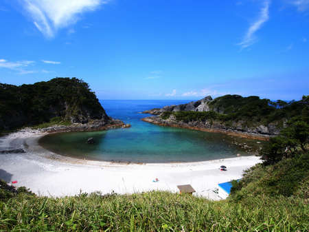 unexplored: Shikinejima Tomari beach
