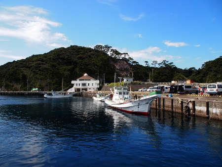 unexplored: Port of Nobushi in Shikine island (Tokyo, Japan)