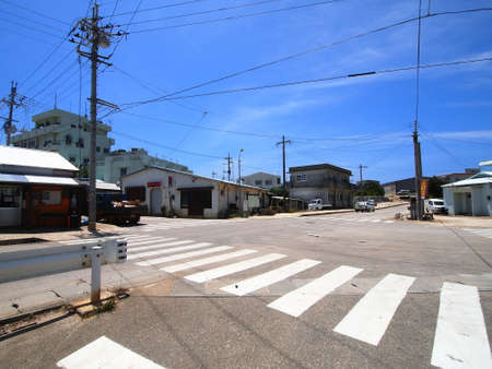 unexplored: The downtown in Minami-daito island (Okinawa, Japan)