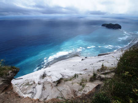 unexplored: Shiro-Mama cliff in Niijima island (Tokyo, Japan)