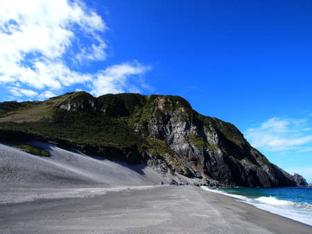 unexplored: AWAI-URA beach in Niijima island (Tokyo, Japan) Stock Photo