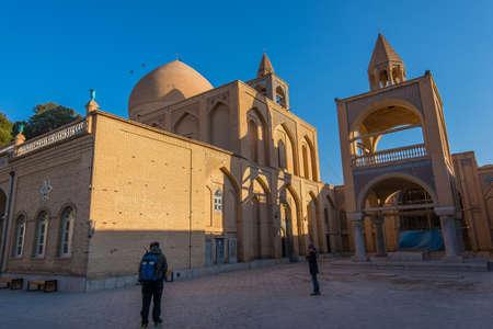 Isfahan, Iran - Circa February 2016 - The external view of Vank Cathedral in New Jolfa DIstrict, Isfahan, Iran