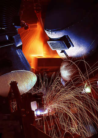 iron works: Welding Operator