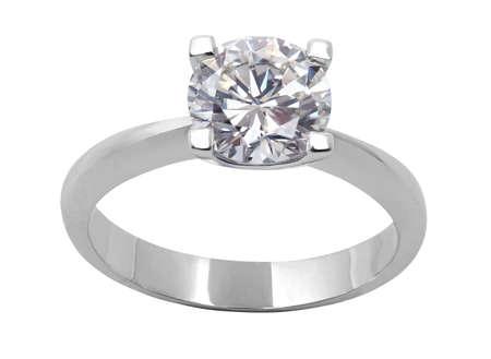 diamond ring Stock Photo - 6323891