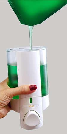 hand sanitizer Stock Photo - 6323948