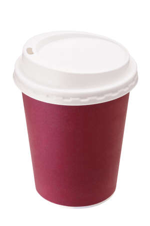blank paper cup