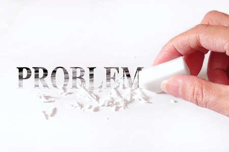 erasing: erase your problem