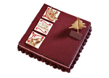 Christmas Chocolate Cake photo