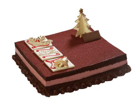 noel chocolat: No�l g�teau au chocolat