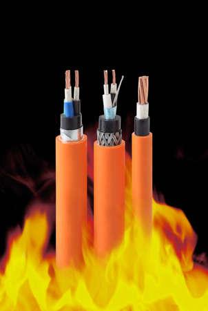 cables electricos:  cables resistentes al fuego