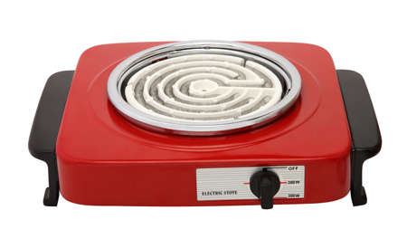 electric stove: Electric Stove Stock Photo