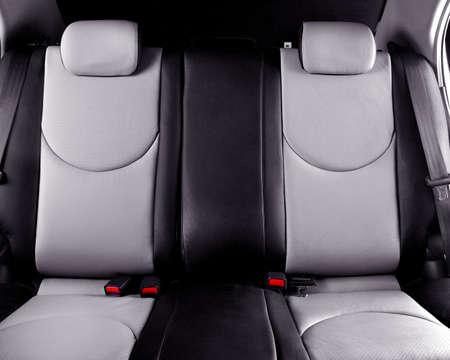 Wnętrze oparcia siedzenia samochodowe