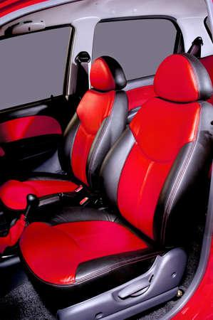 asiento coche: Interior de asientos en respaldo de coche