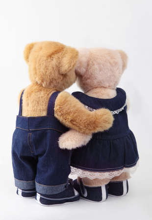 wedlock: couples teddy bear