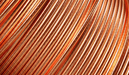metal wire: copper ware