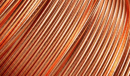 copper background: copper ware