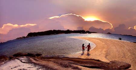 romantico: momento rom�ntico Foto de archivo