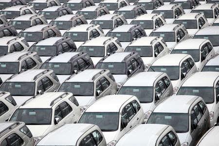 voiture parking: patron de voitures