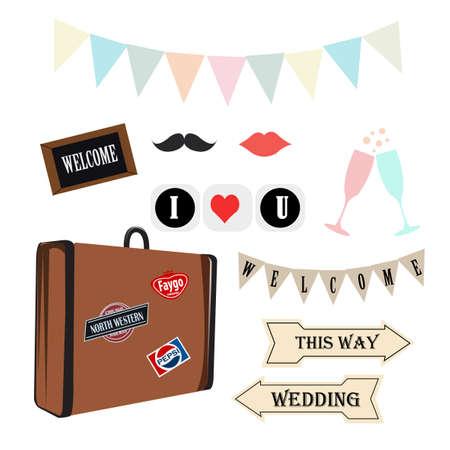 props: Props wedding vintage