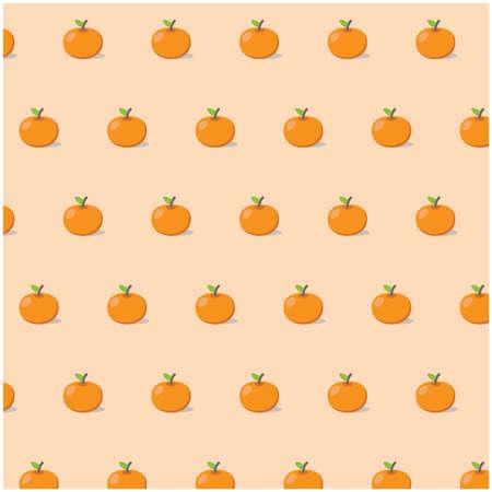 orange pattern: summer orange pattern Illustration