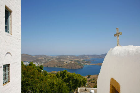 judgement day: cave of revelation in patmos island greece