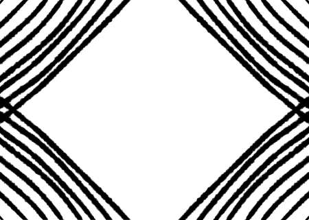 Hand drawn, Abstract monochrome created of geometric shapes background, Striped background, black simple lines pattern, space for your text