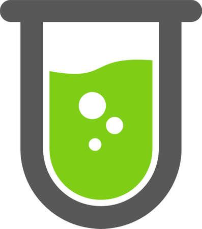 icoon van lab glas