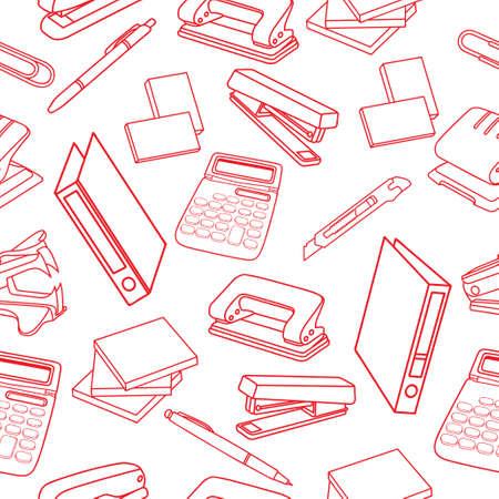 Office tools and gadgets images Illustration