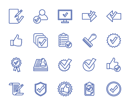 vector lines icons