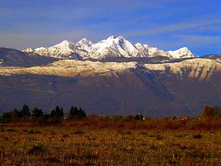 Piancavallo montagna Archivio Fotografico